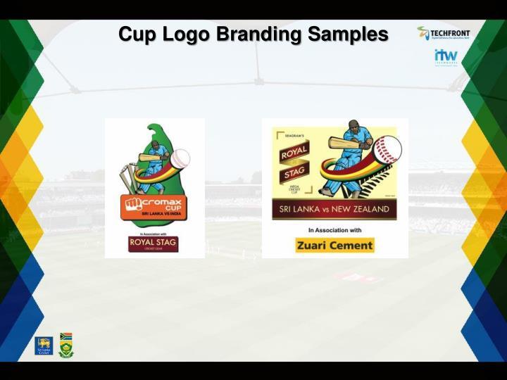 Cup Logo Branding Samples