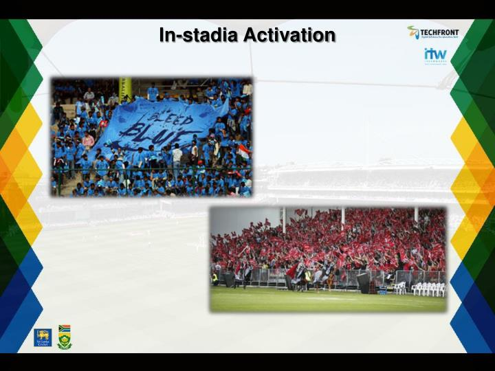 In-stadia Activation