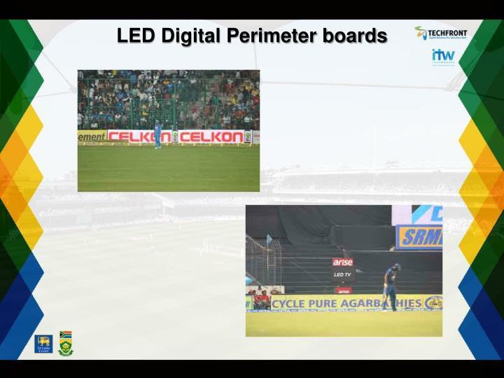 LED Digital Perimeter