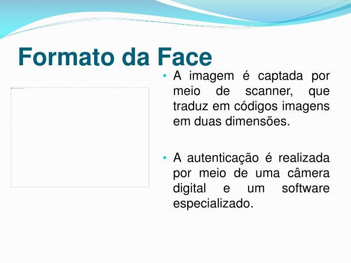 Formato da Face
