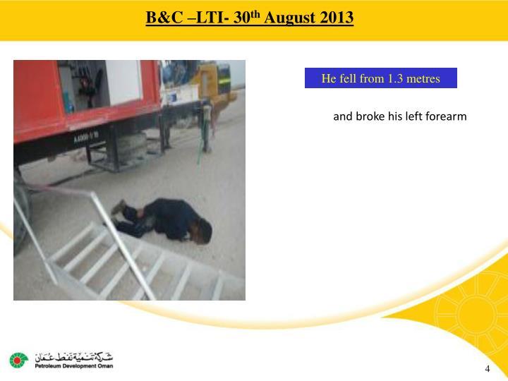 B&C –LTI- 30