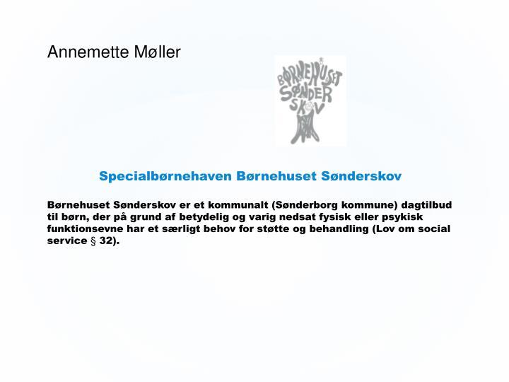 Annemette Møller