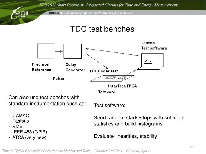 TDC test