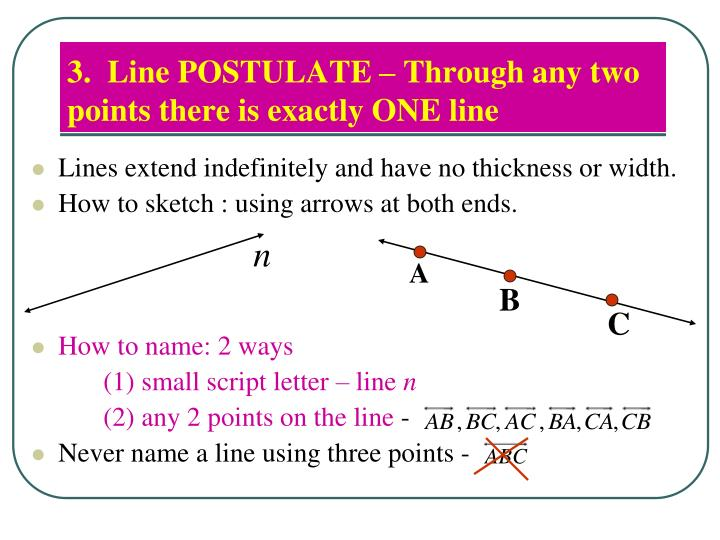 3.  Line