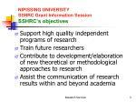 nipissing university sshrc grant information session sshrc s objectives