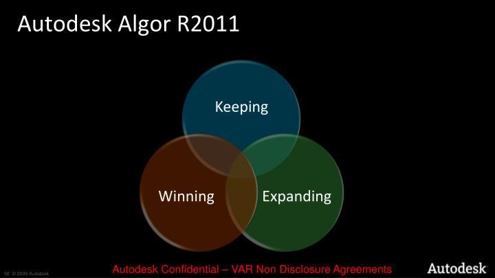 Autodesk Algor R2011