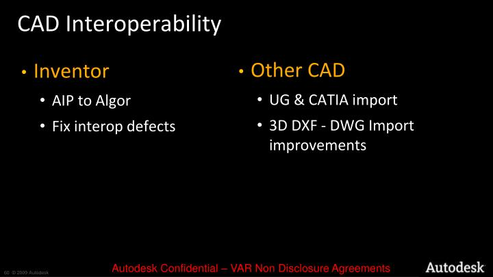 CAD Interoperability