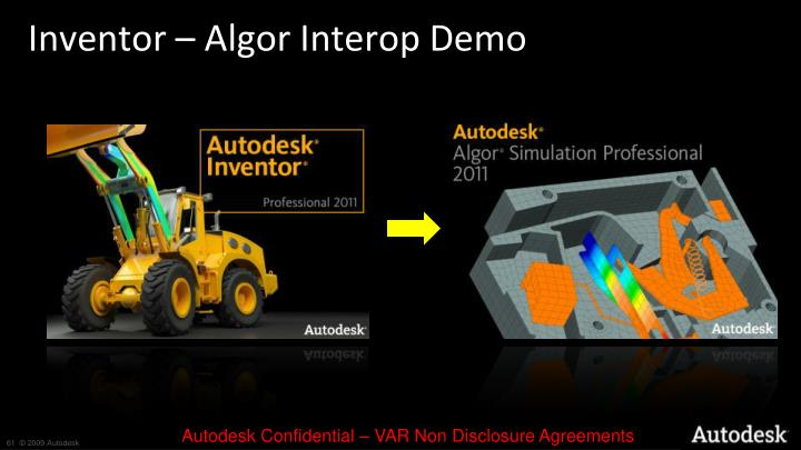 Inventor – Algor Interop Demo