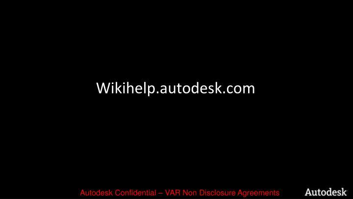 Wikihelp.autodesk.com