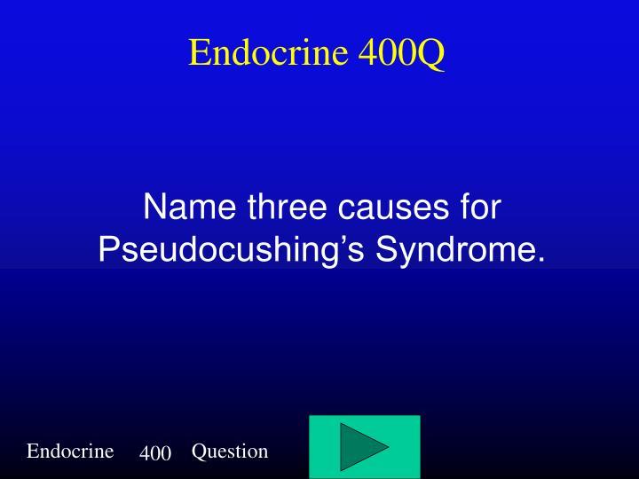 Endocrine 400Q