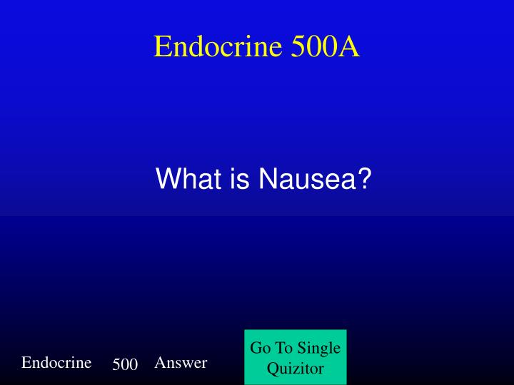 Endocrine 500A