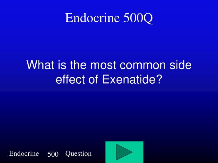 Endocrine 500Q