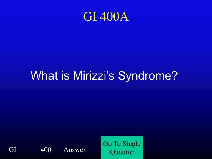GI 400A