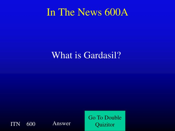 In The News 600A
