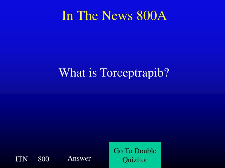 In The News 800A