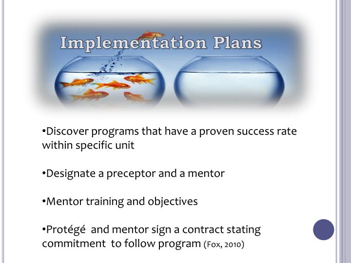 Implementation Plans