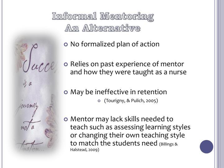 Informal Mentoring