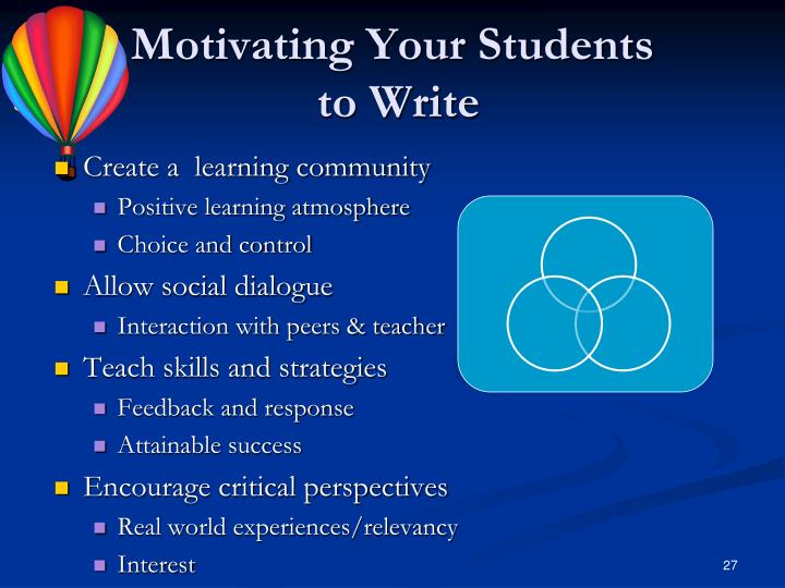 Motivating Your Students