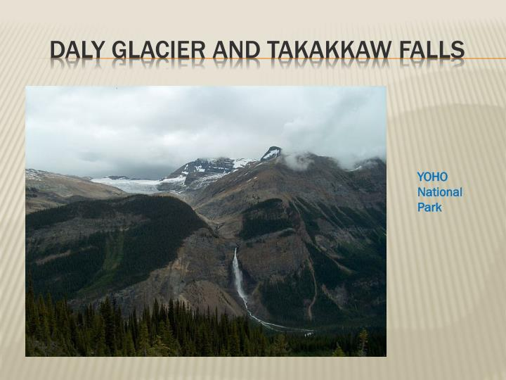 Daly Glacier and