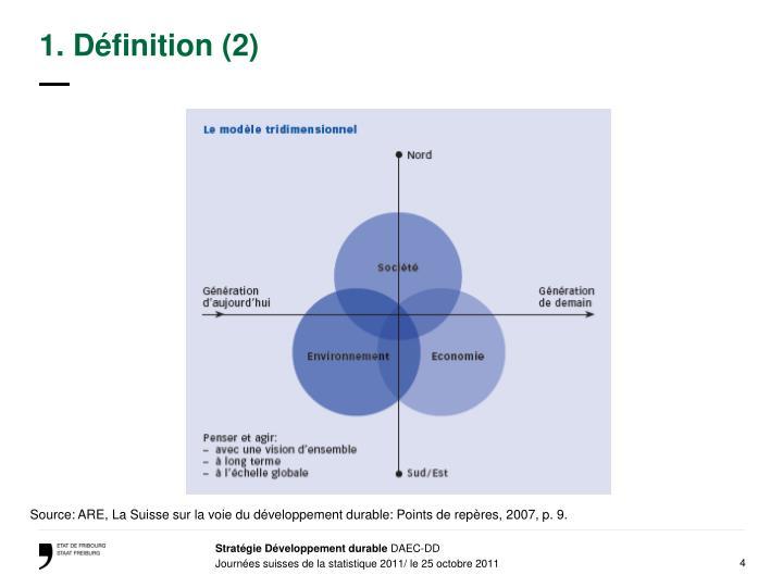 1. Définition (2)
