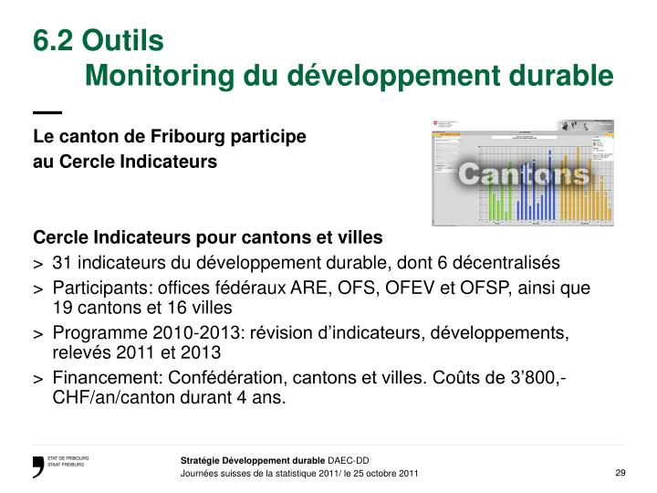 6.2 Outils
