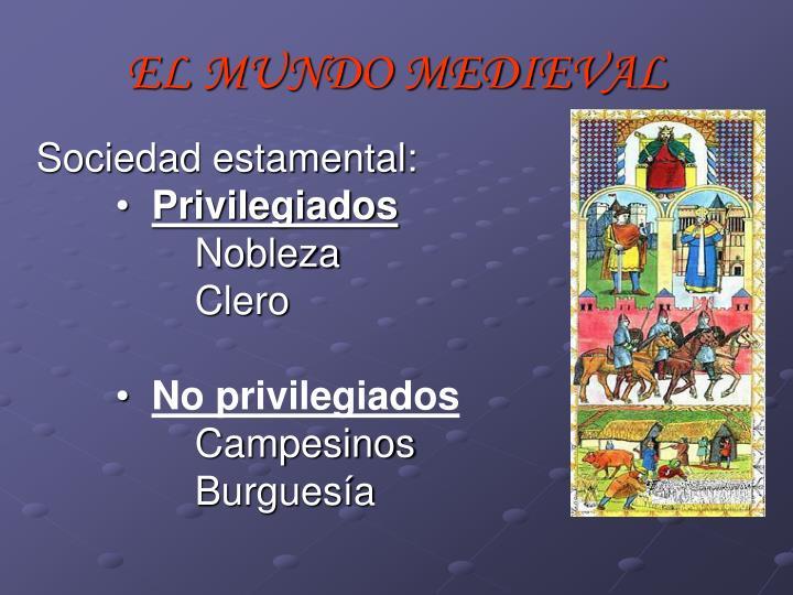 EL MUNDO MEDIEVAL
