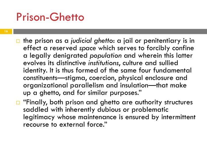 Prison-Ghetto