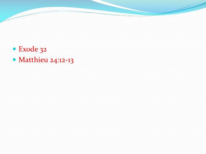 Exode 32