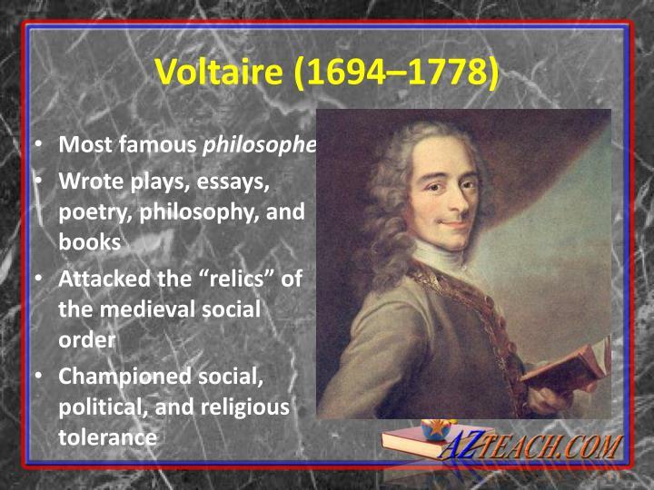 Voltaire (1694
