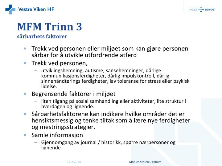 MFM Trinn 3