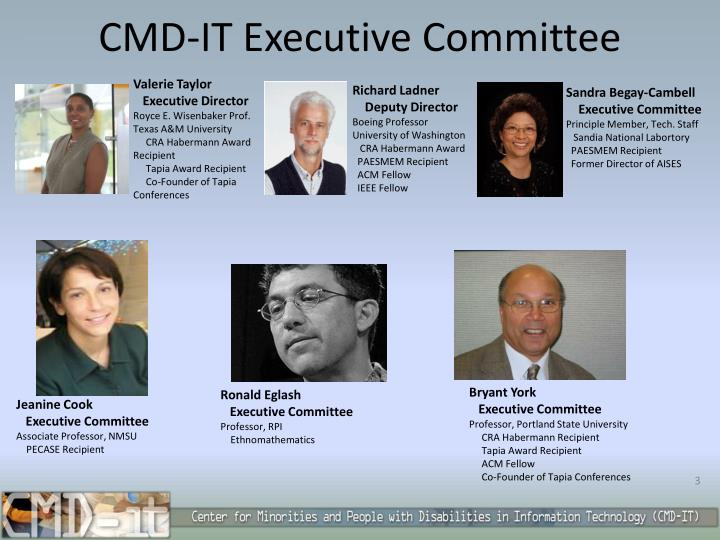 CMD-IT Executive Committee