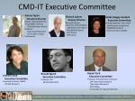 cmd it executive committee