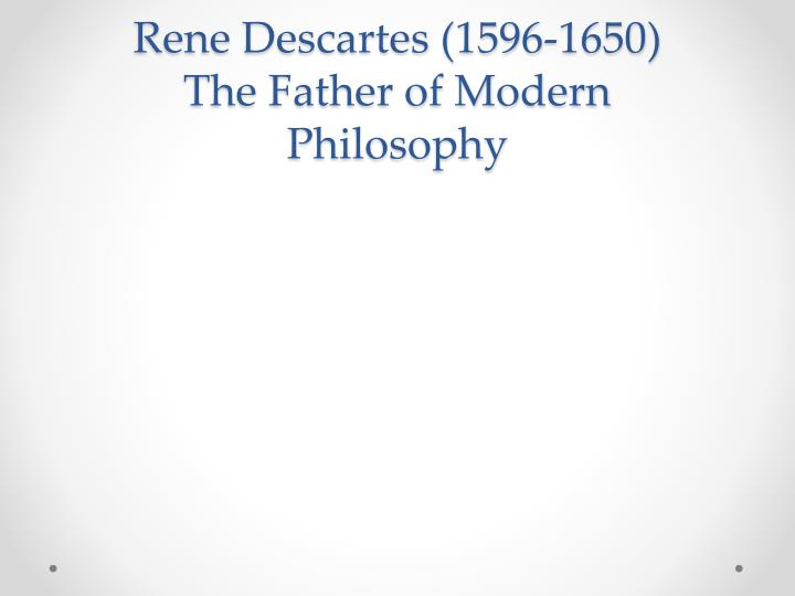 an analysis of rene descartes philosophy on dreaming The third and final chapter provides a critical analysis of descartes and his philosophy through the topics it touches upon here, i have tried to give  the form ofthree consecutive.