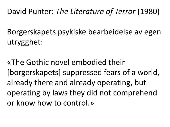 David Punter: