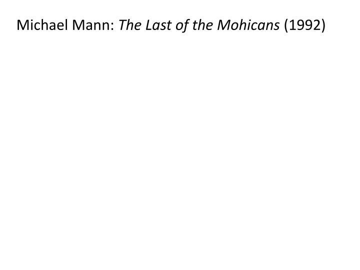 Michael Mann: