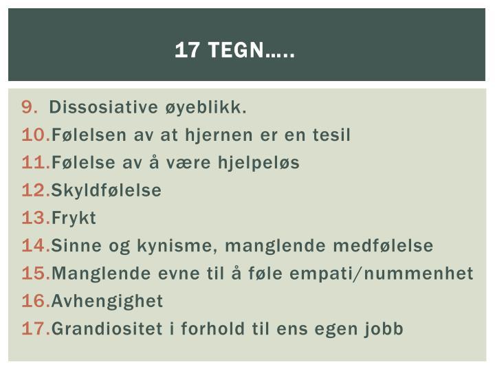 17 tegn…..
