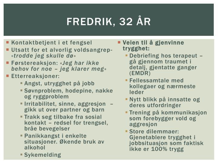 Fredrik, 32 år
