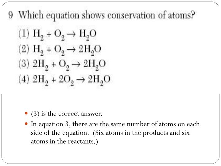 (3) is the correct answer.