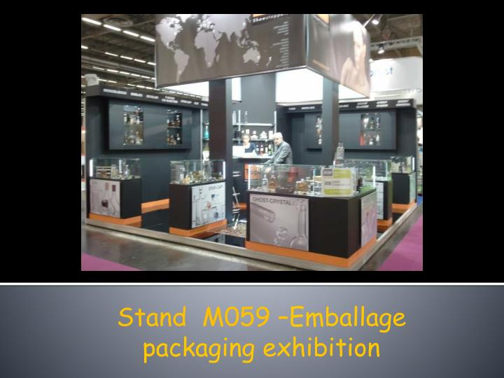 Stand  M059 –