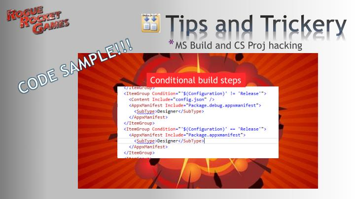 MS Build and CS