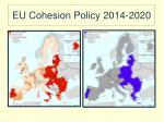 eu cohesion policy 2014 2020