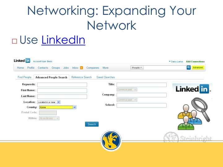 Networking: Expanding Your Network