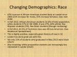changing demographics race