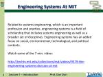 engineering systems at mit