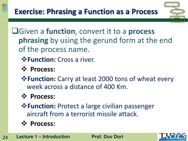 Exercise: Phrasing
