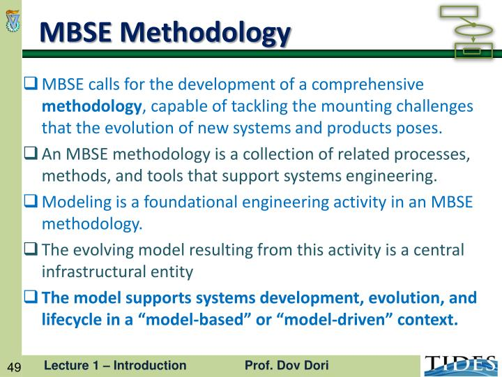 MBSE Methodology