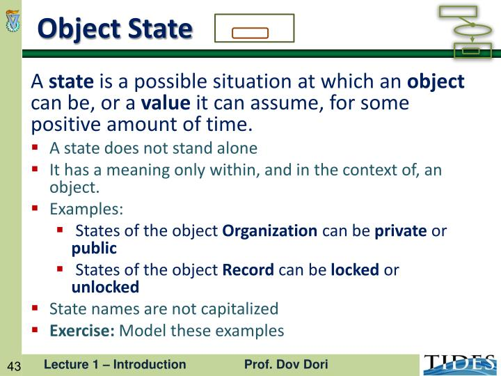 Object State