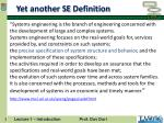 yet another se definition