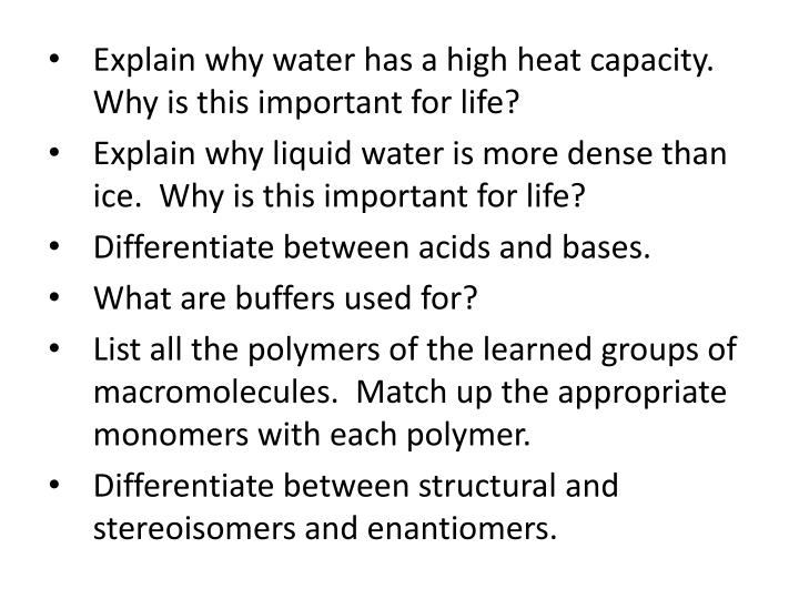 why is without a doubt water liquid fundamental to get life