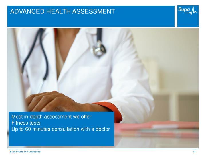 ADVANCED HEALTH ASSESSMENT